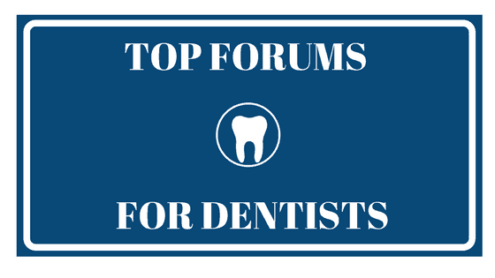 top forums for dentists