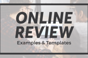 Online Review Examples