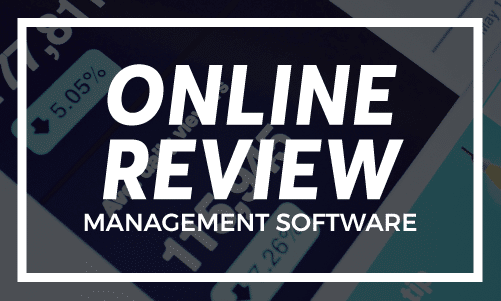 Online review management software