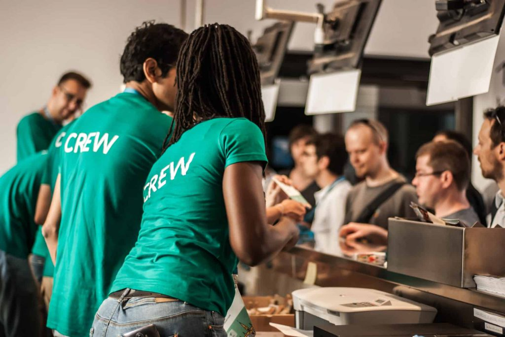 crew customer service skills