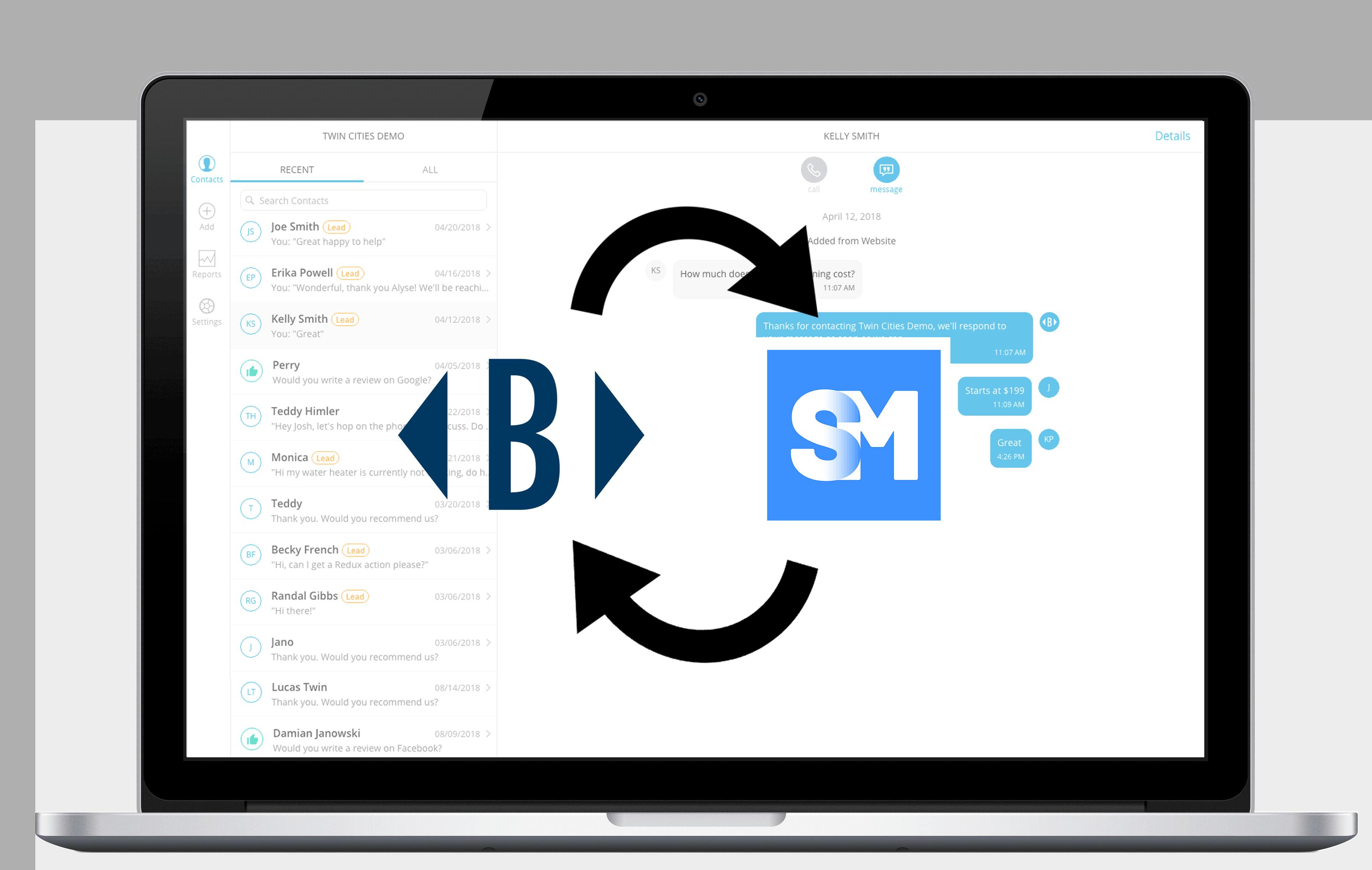 ServiceMonster Integration