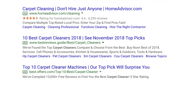 PPC Ads for small business website