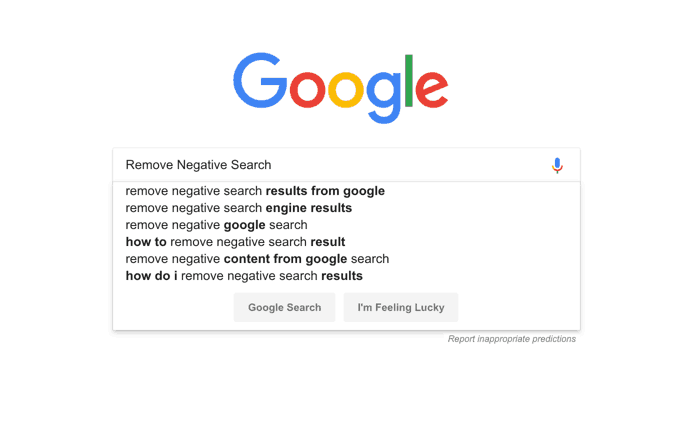 How To Remove Negative Results From Google