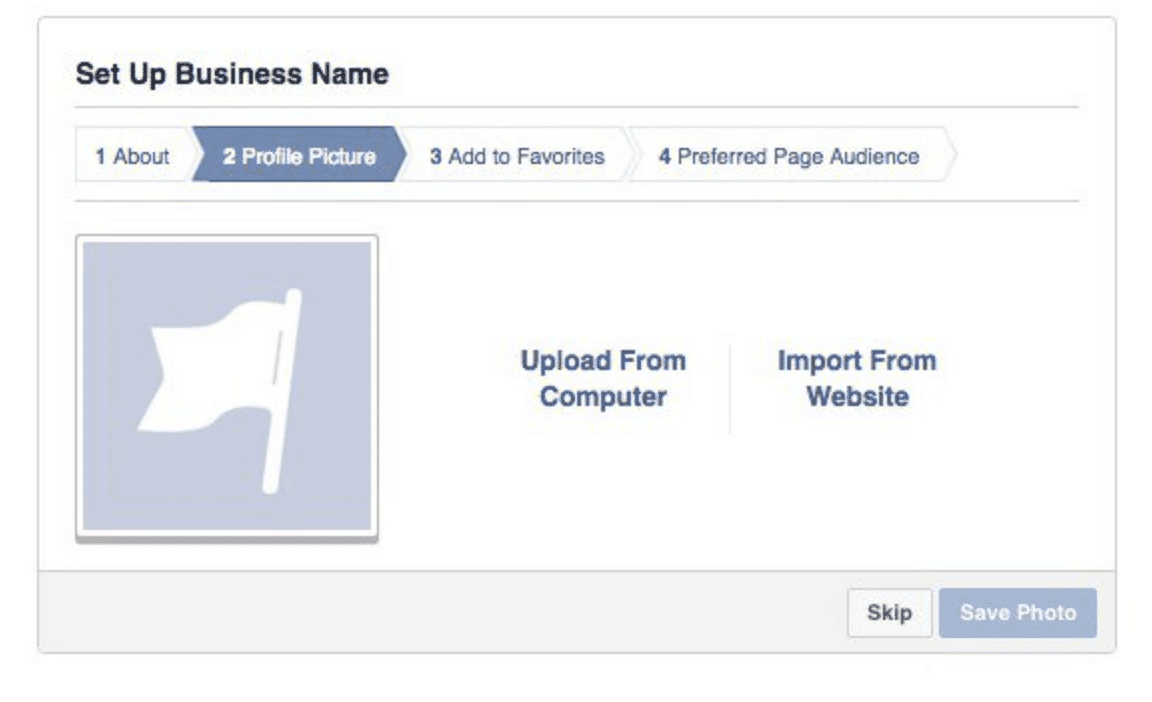 set up a Facebook business name