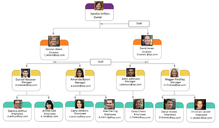 Line and Staff Organization Structure