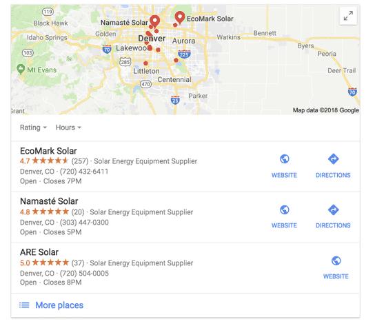 Local SEO for Solar Companies