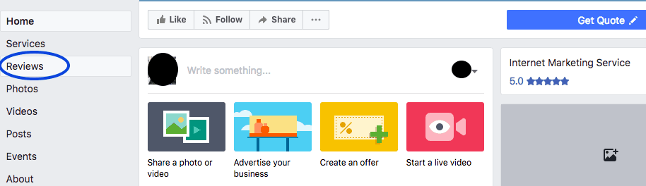 Facebook Reviews Section For Embed