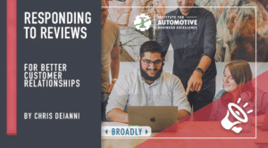 Class - Responding to reviews